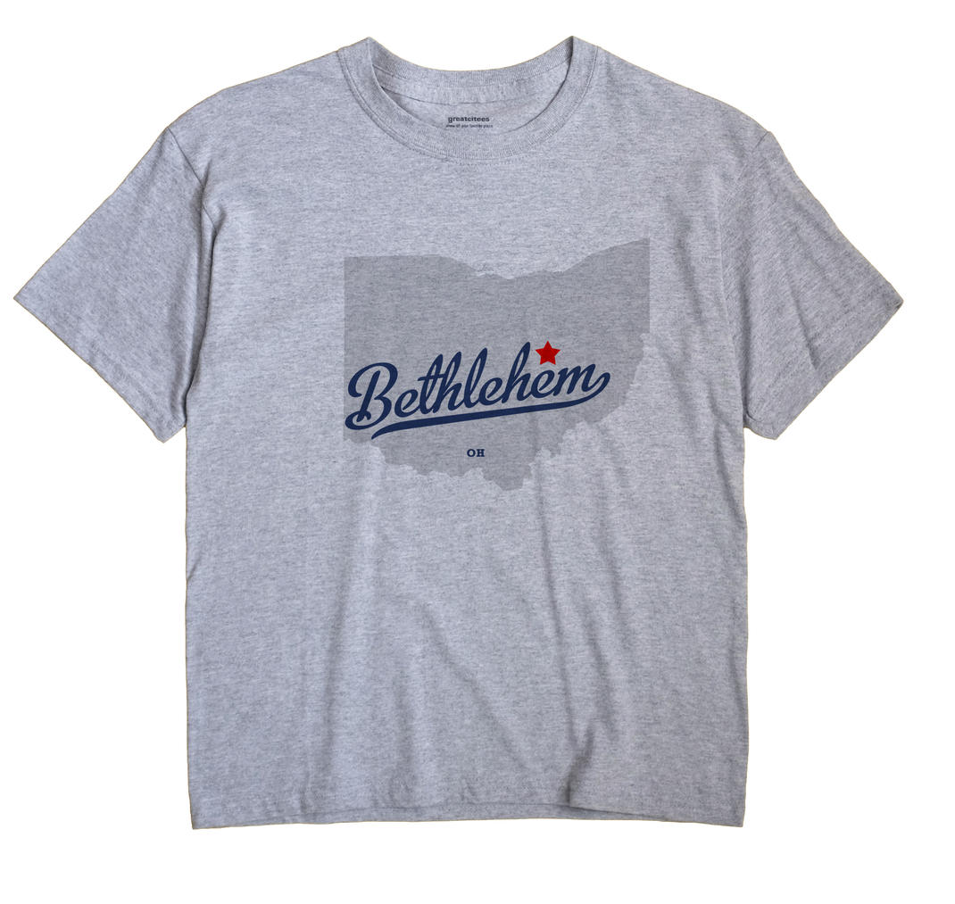 Bethlehem, Coshocton County, Ohio OH Souvenir Shirt