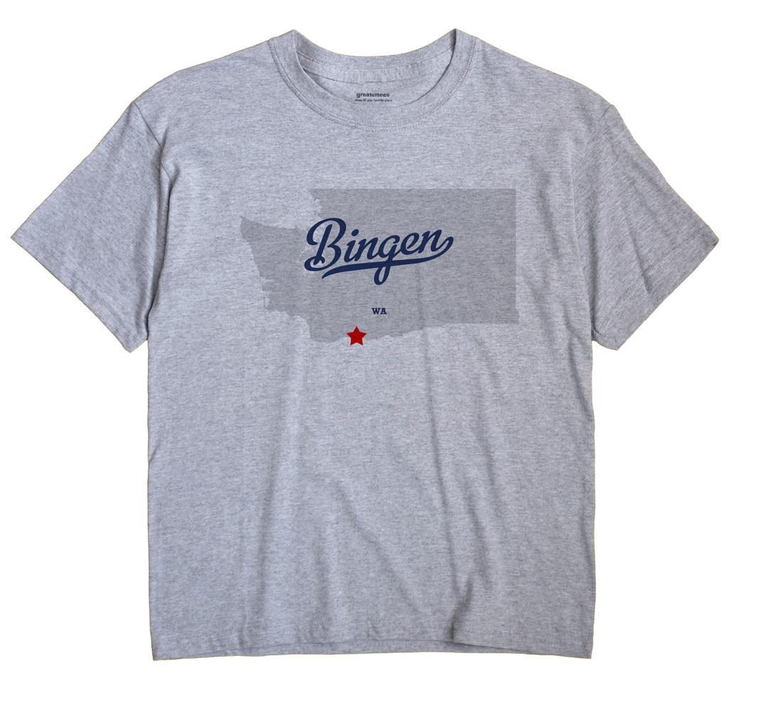 Bingen, Washington WA Souvenir Shirt