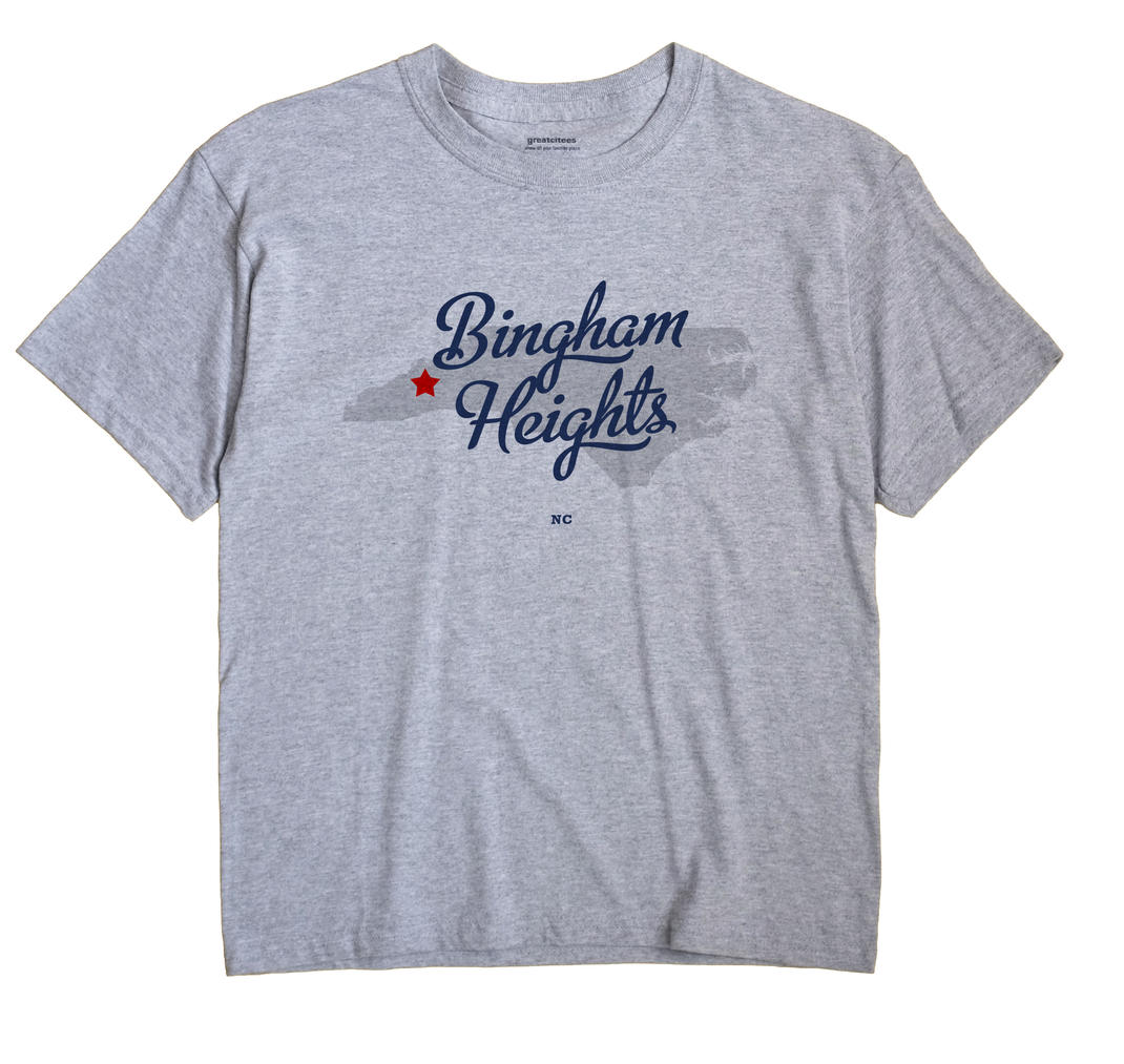 Bingham Heights, North Carolina NC Souvenir Shirt