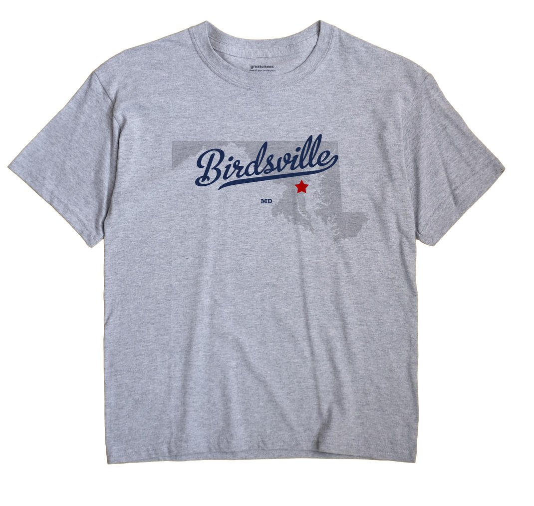 Birdsville, Maryland MD Souvenir Shirt