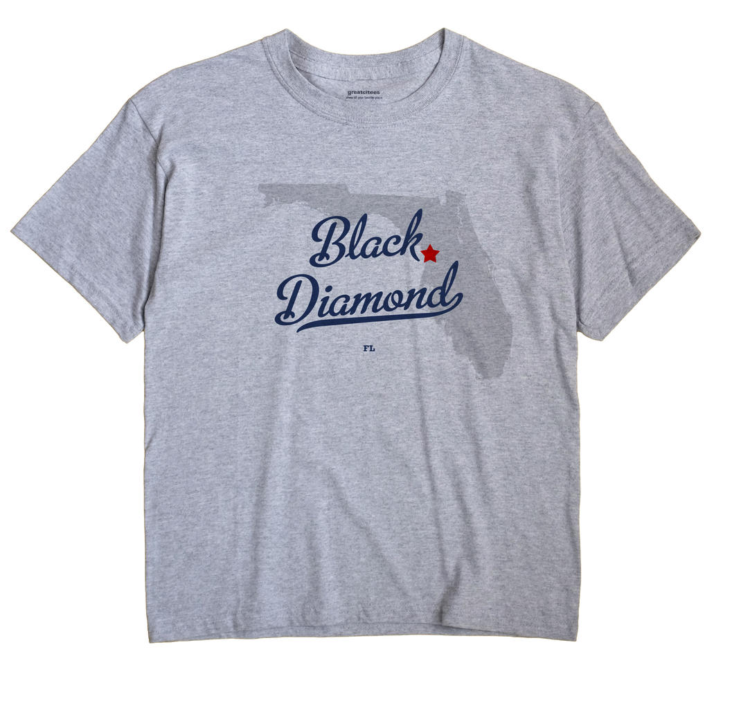 Black Diamond, Florida FL Souvenir Shirt