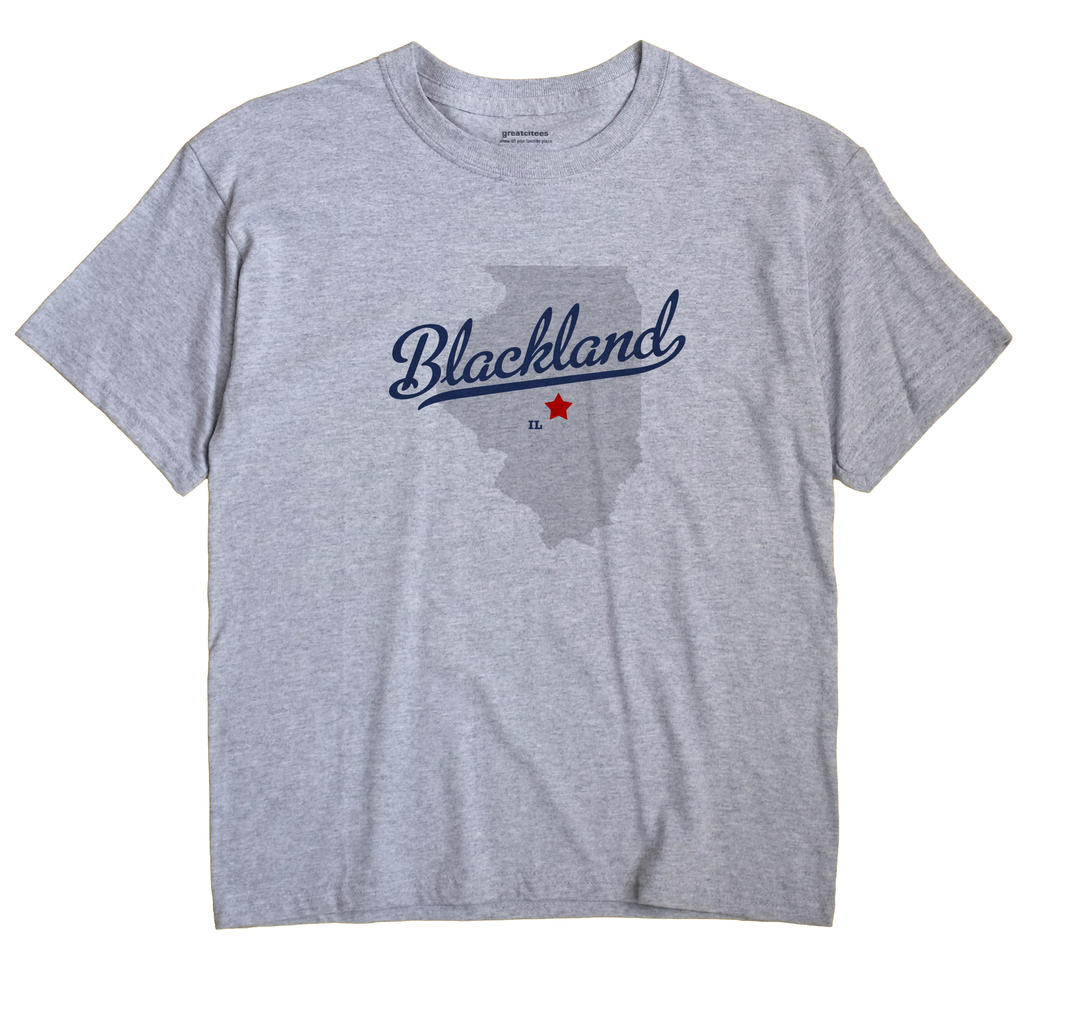 Blackland, Illinois IL Souvenir Shirt