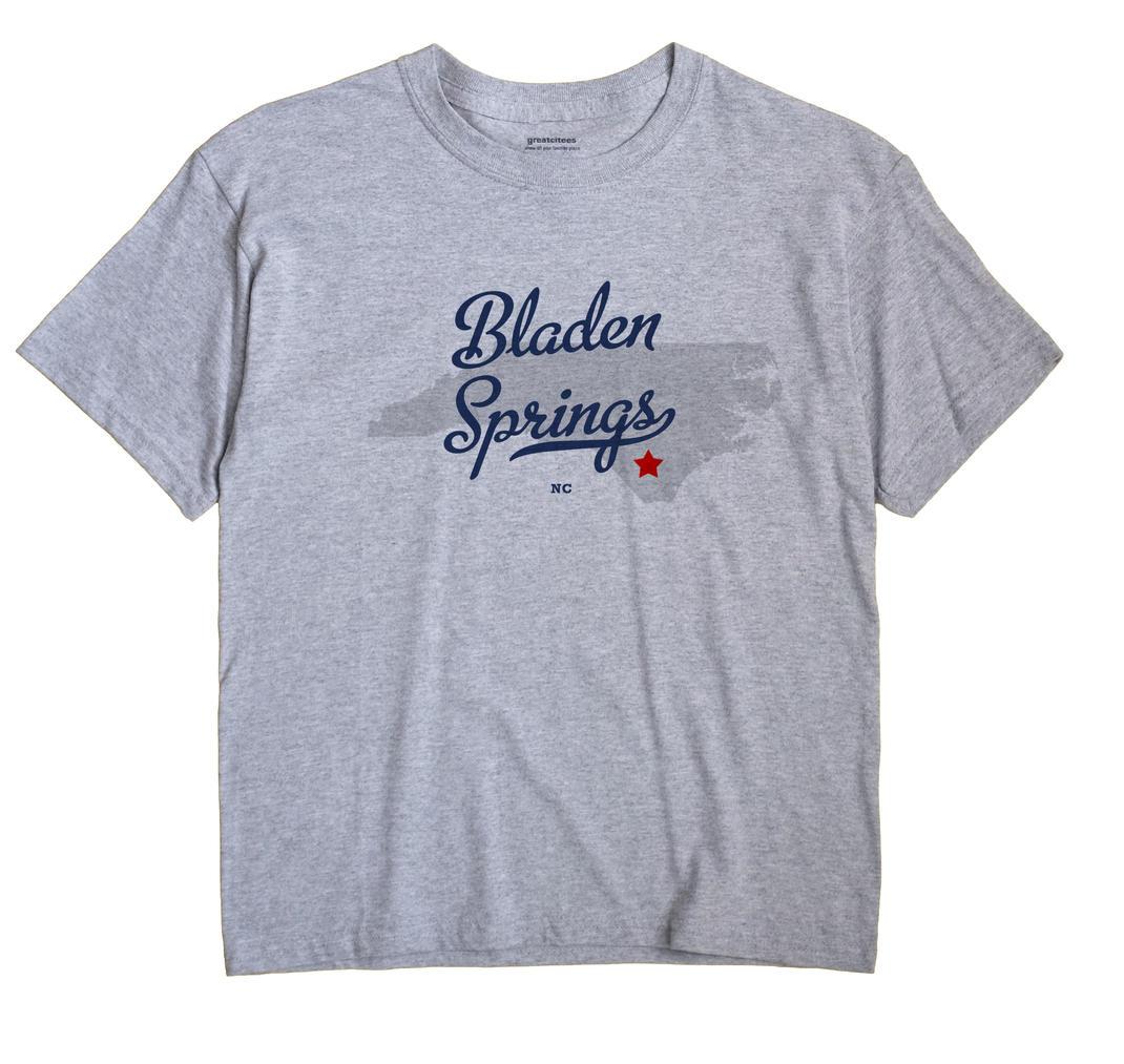 Bladen Springs, North Carolina NC Souvenir Shirt