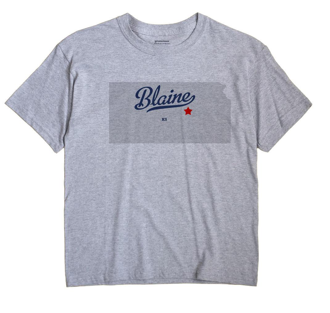 Blaine, Marion County, Kansas KS Souvenir Shirt