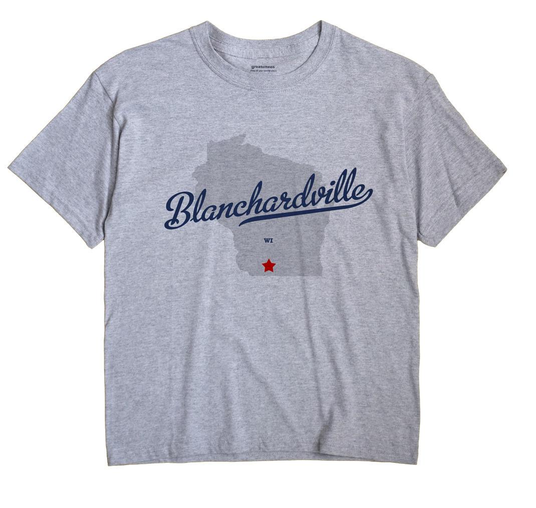Blanchardville, Wisconsin WI Souvenir Shirt