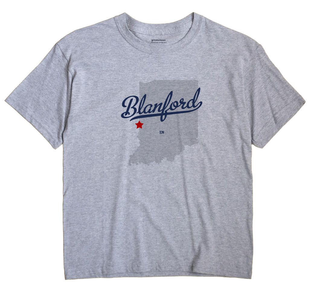 Blanford, Indiana IN Souvenir Shirt