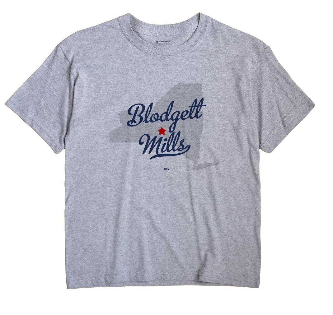 Blodgett Mills, New York NY Souvenir Shirt