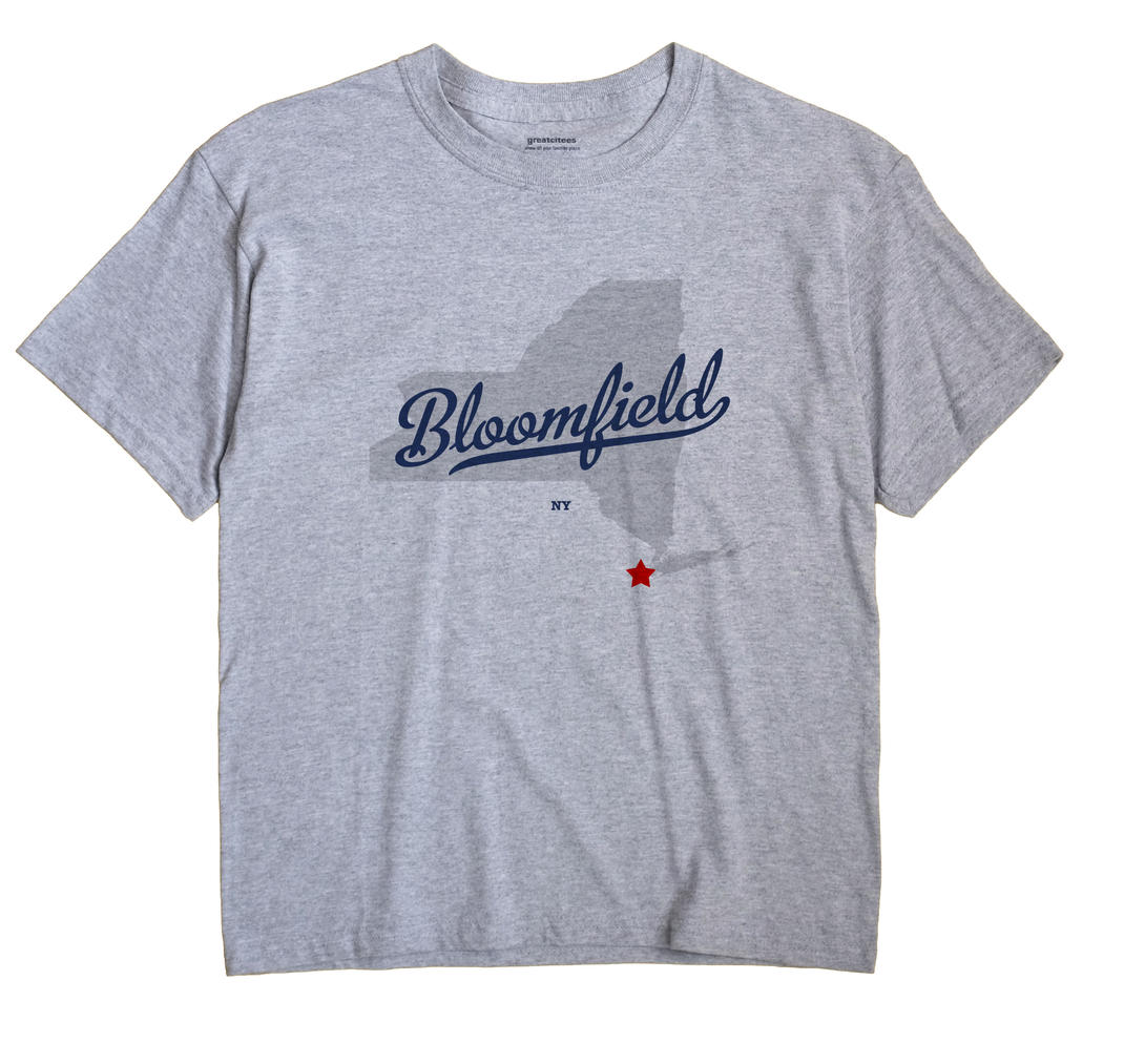 Bloomfield, New York NY Souvenir Shirt