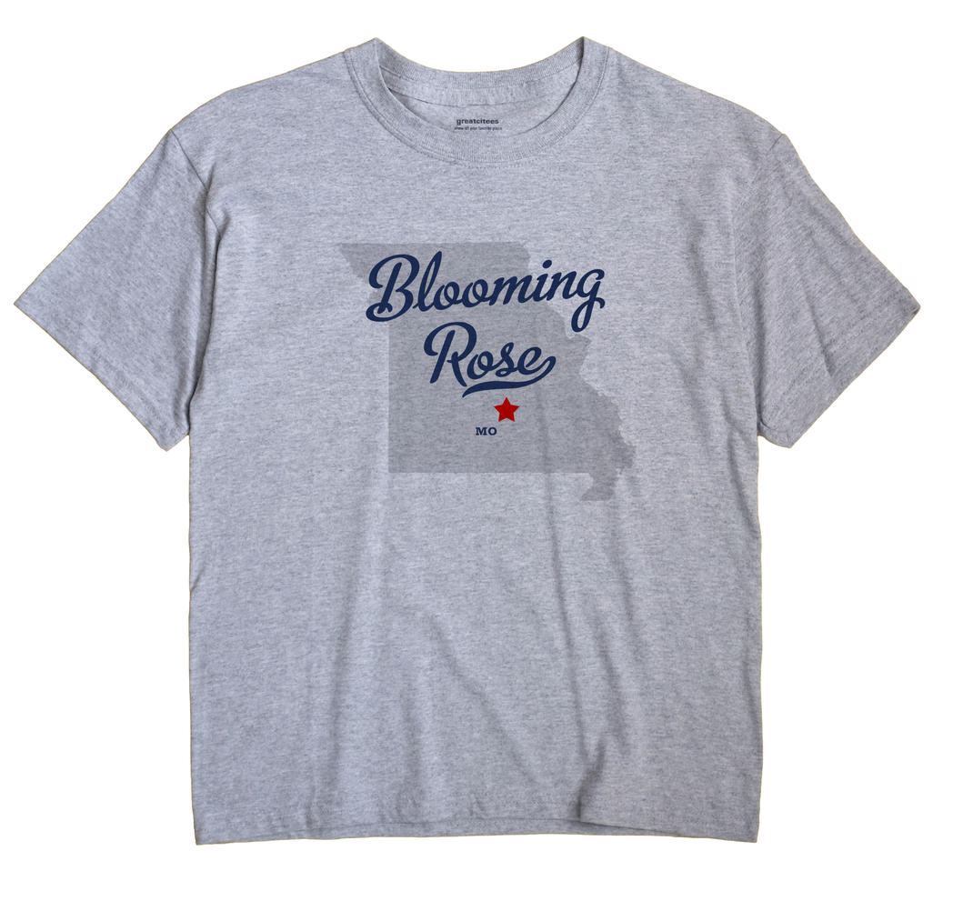 Blooming Rose, Missouri MO Souvenir Shirt