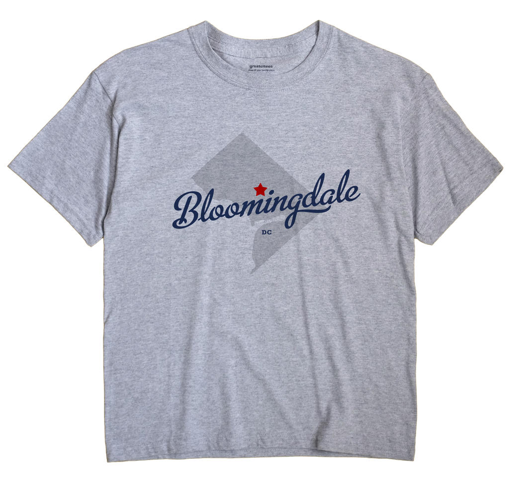 Bloomingdale, District Of Columbia DC Souvenir Shirt
