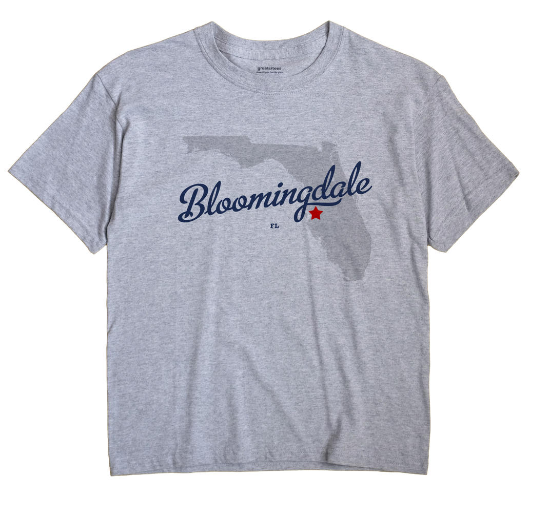 Bloomingdale, Florida FL Souvenir Shirt