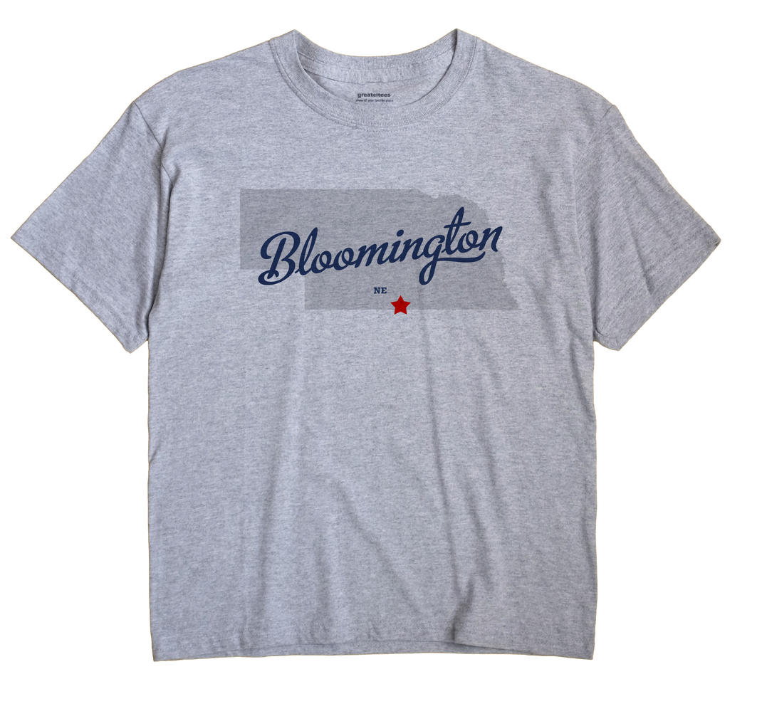 Bloomington, Nebraska NE Souvenir Shirt