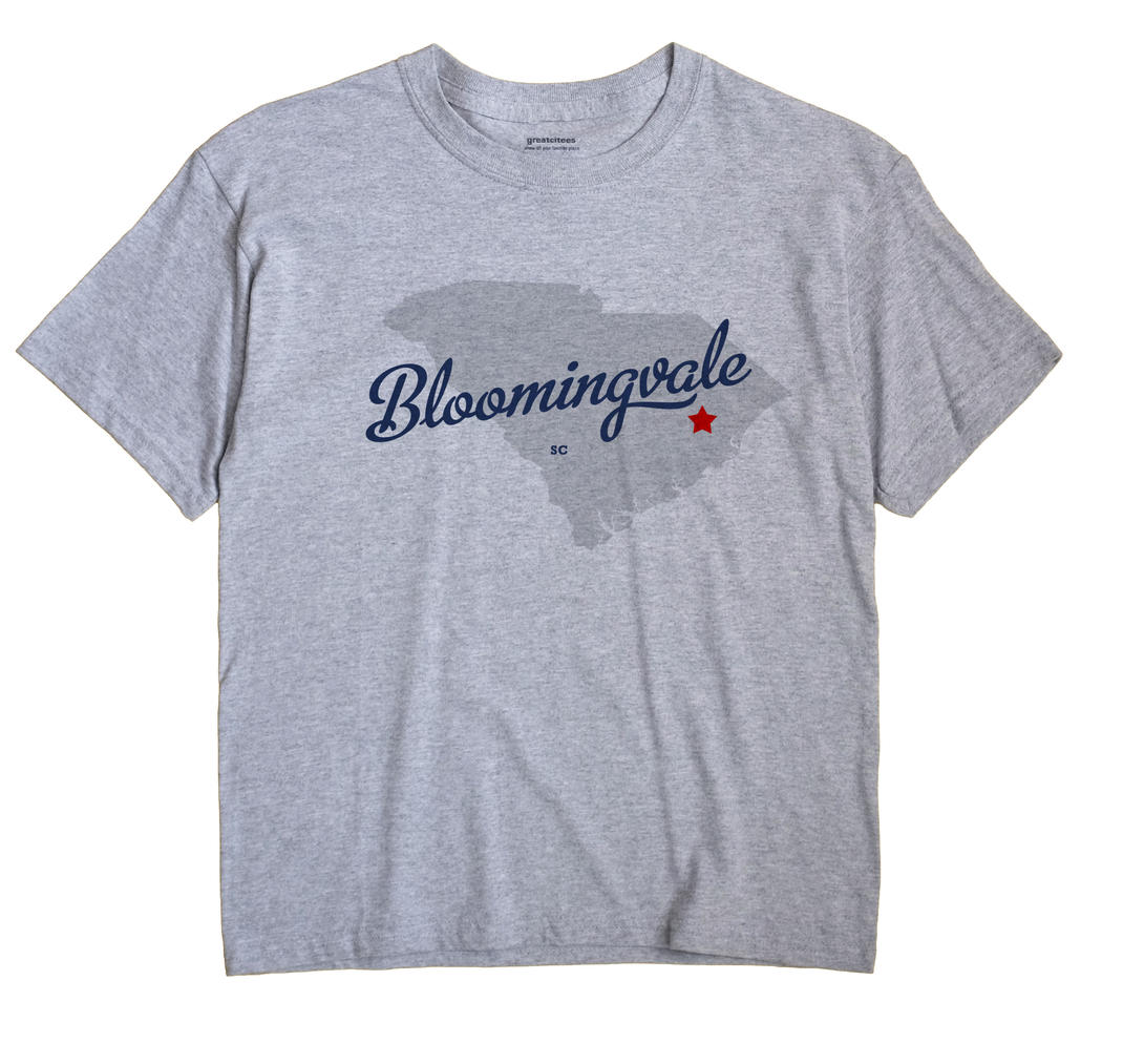 Bloomingvale, South Carolina SC Souvenir Shirt