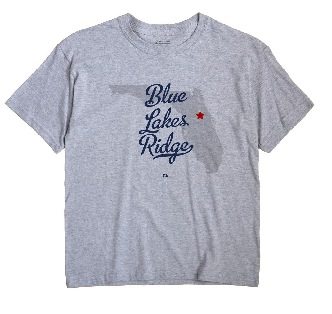 Blue Lakes Ridge, Florida FL Souvenir Shirt