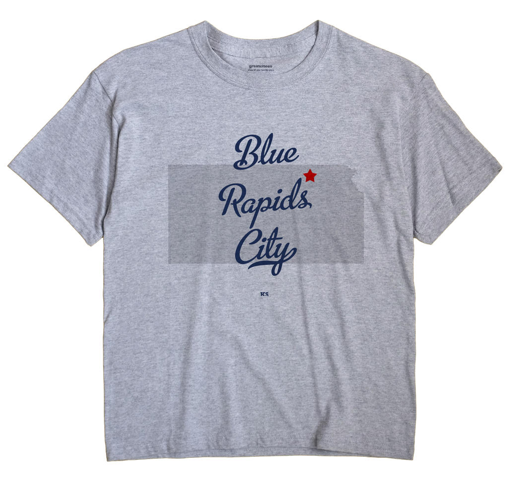 Blue Rapids City, Kansas KS Souvenir Shirt