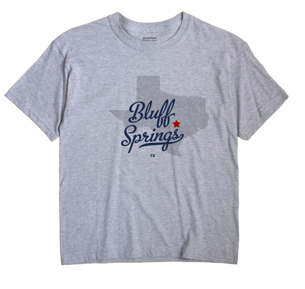 Bluff Springs, Texas TX Souvenir Shirt