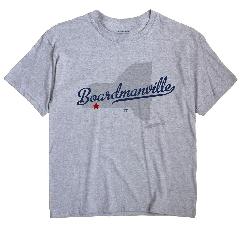 Boardmanville, New York NY Souvenir Shirt
