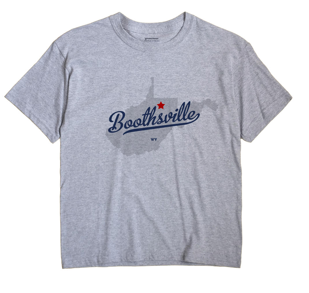 Boothsville, West Virginia WV Souvenir Shirt