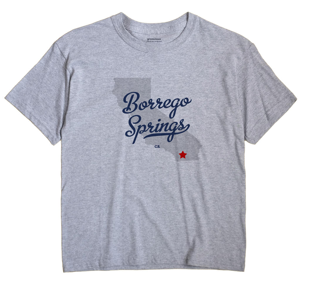 Borrego Springs, California CA Souvenir Shirt
