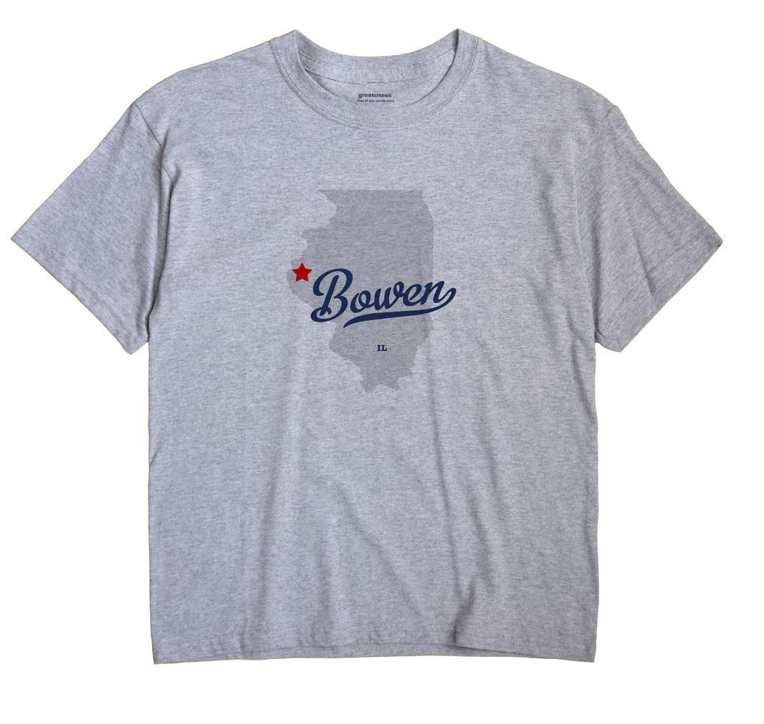 Bowen, Illinois IL Souvenir Shirt