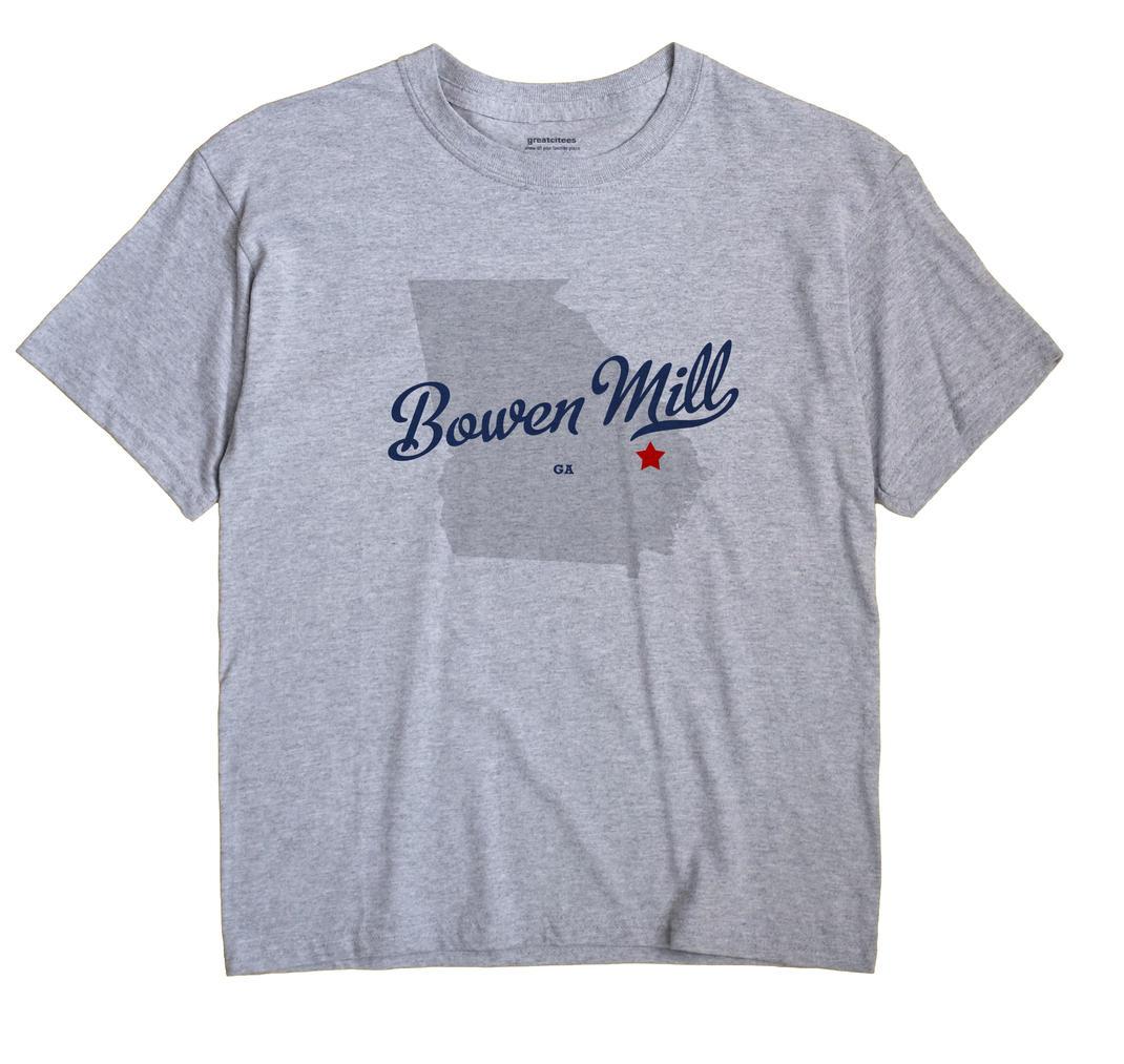 Bowen Mill, Georgia GA Souvenir Shirt