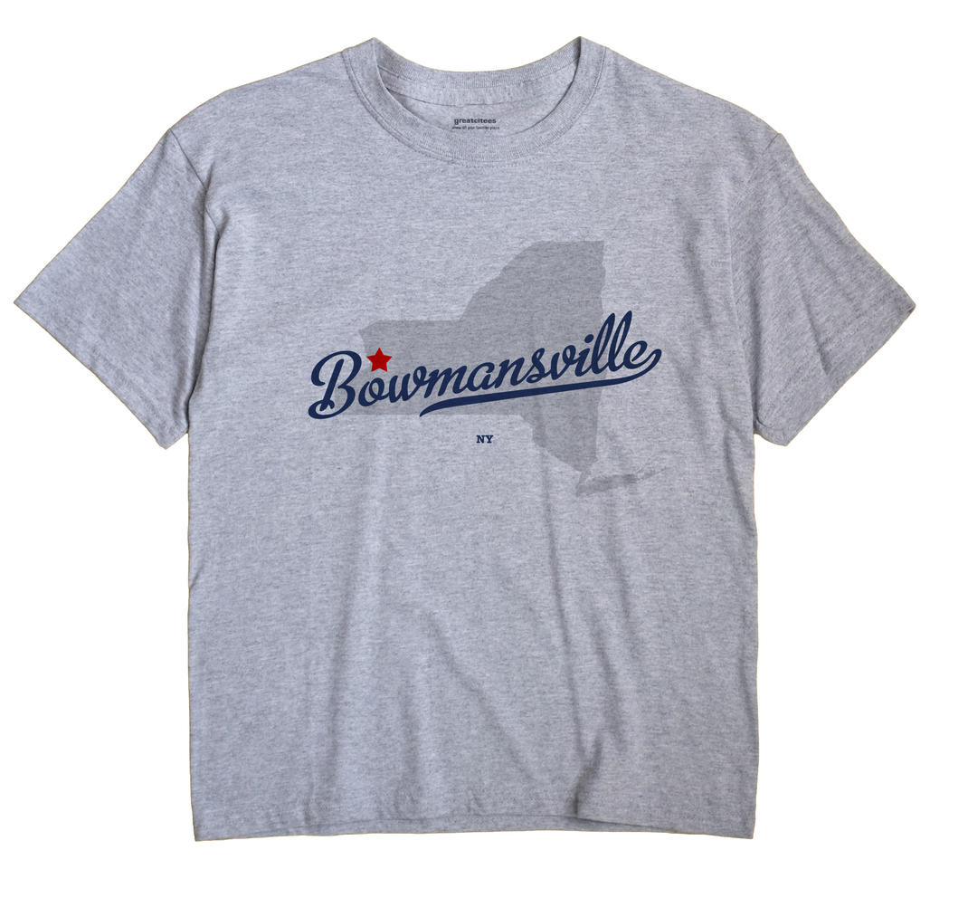 Bowmansville, New York NY Souvenir Shirt