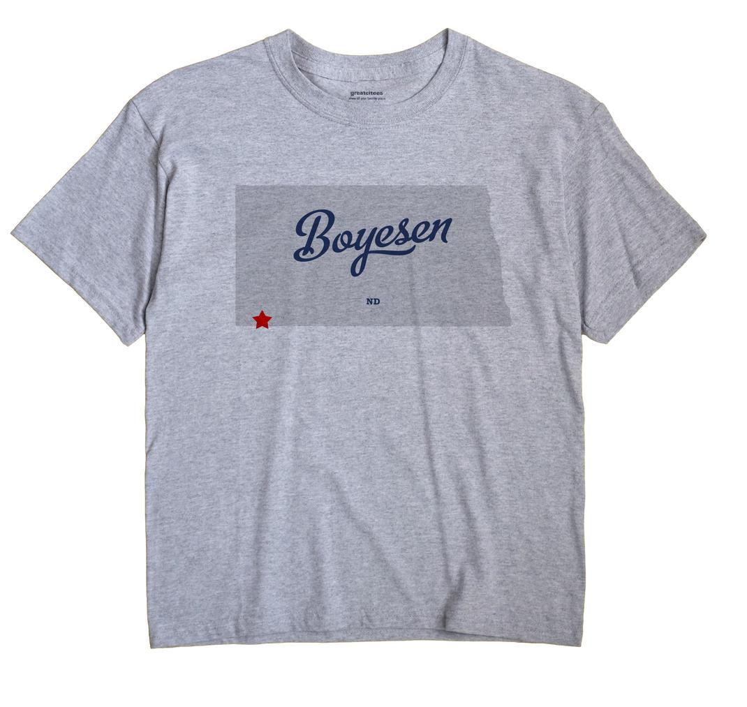 Boyesen, North Dakota ND Souvenir Shirt