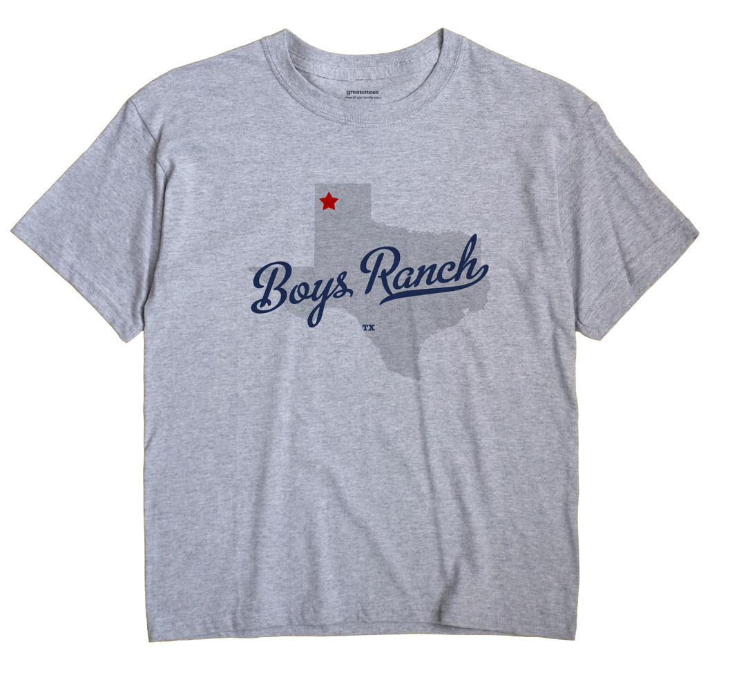 Boys Ranch, Texas TX Souvenir Shirt