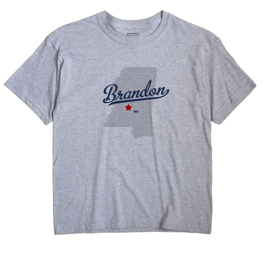 Brandon, Mississippi MS Souvenir Shirt