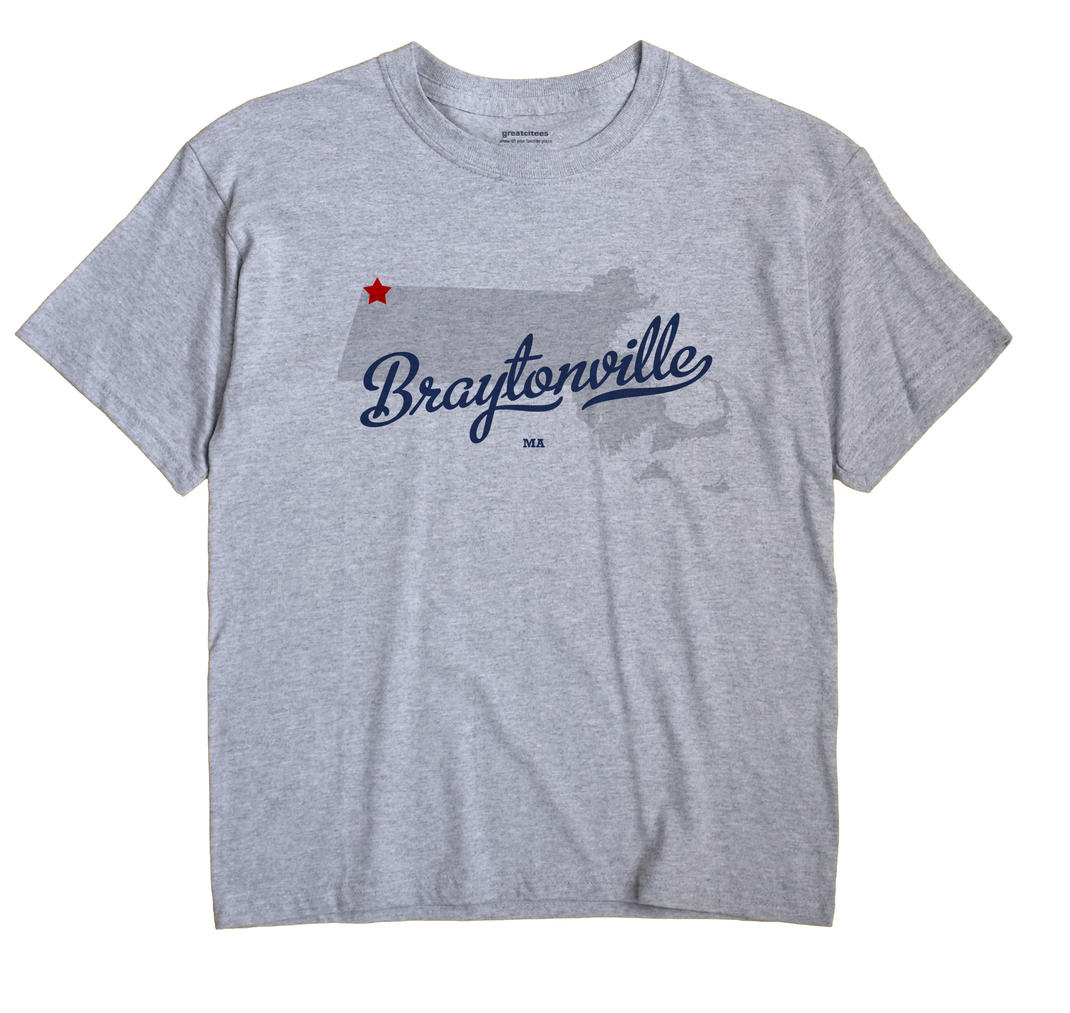 Braytonville, Massachusetts MA Souvenir Shirt