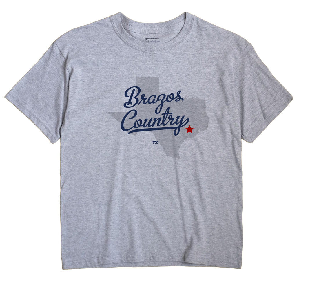 Brazos Country, Texas TX Souvenir Shirt