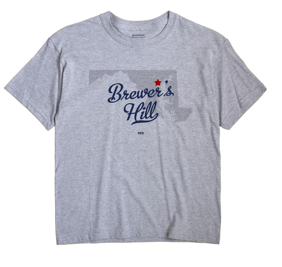 Brewer's Hill, Maryland MD Souvenir Shirt