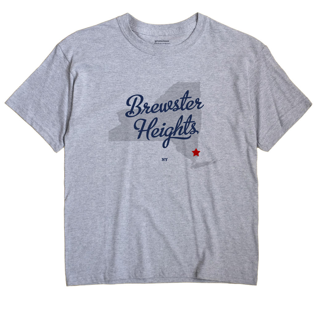 Brewster Heights, New York NY Souvenir Shirt