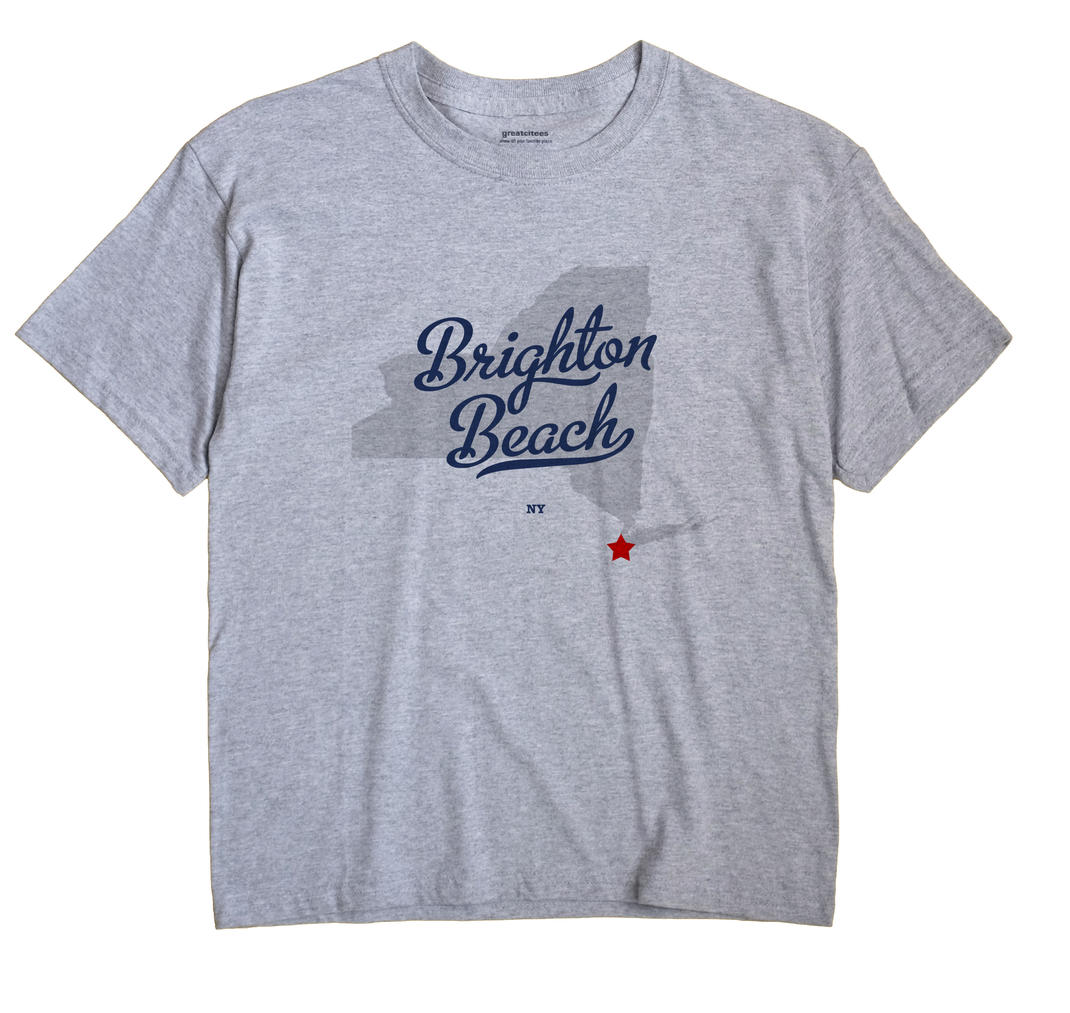 Brighton Beach, New York NY Souvenir Shirt