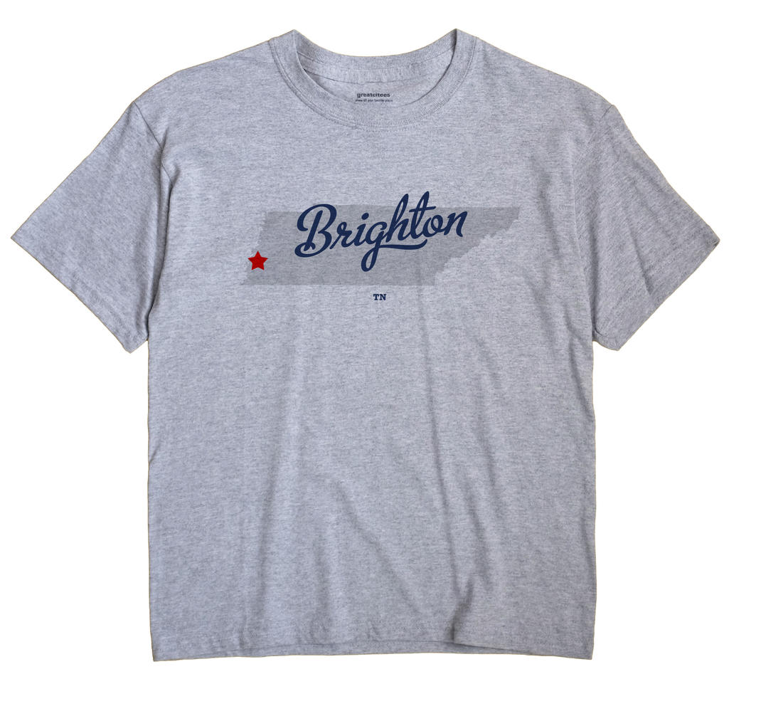 Brighton, Tipton County, Tennessee TN Souvenir Shirt