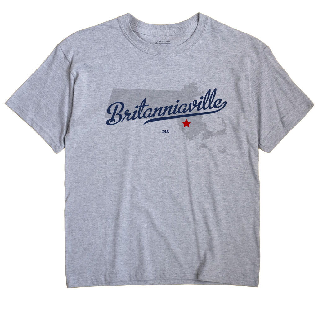 Britanniaville, Massachusetts MA Souvenir Shirt