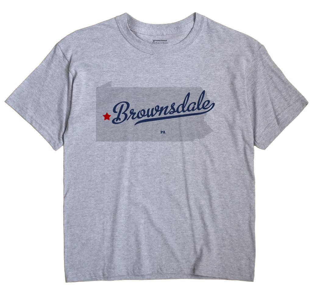 Brownsdale, Pennsylvania PA Souvenir Shirt