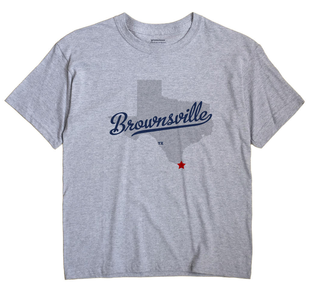 Brownsville, Texas TX Souvenir Shirt