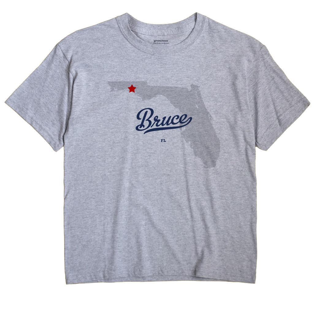 Bruce, Florida FL Souvenir Shirt