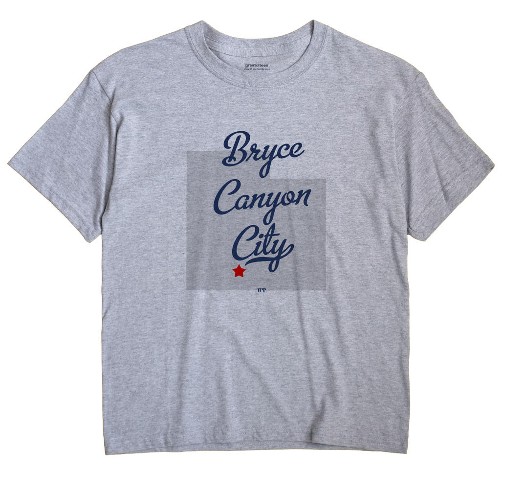 Bryce Canyon City, Utah UT Souvenir Shirt