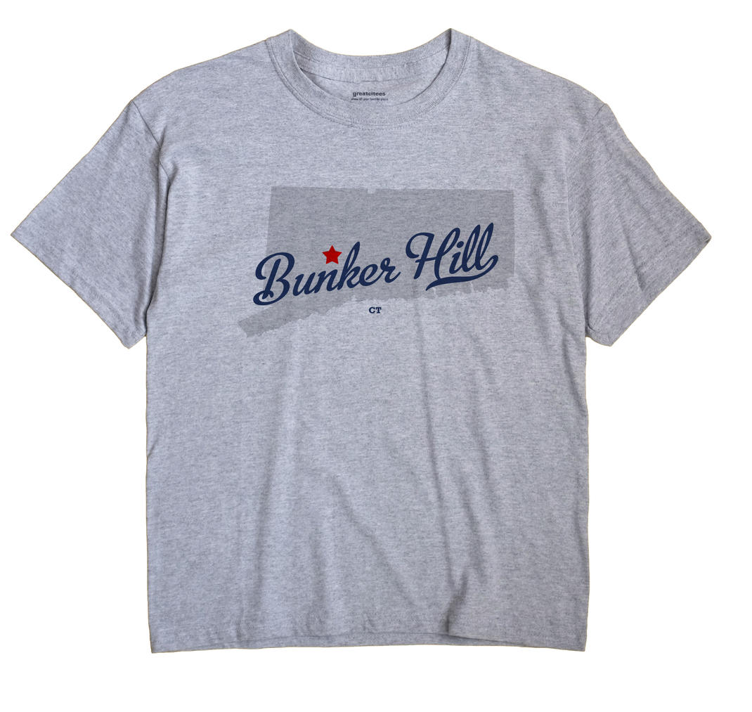 Bunker Hill, Connecticut CT Souvenir Shirt