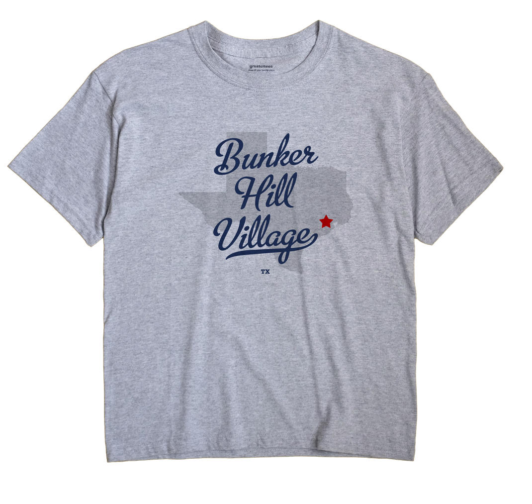 Bunker Hill Village, Texas TX Souvenir Shirt