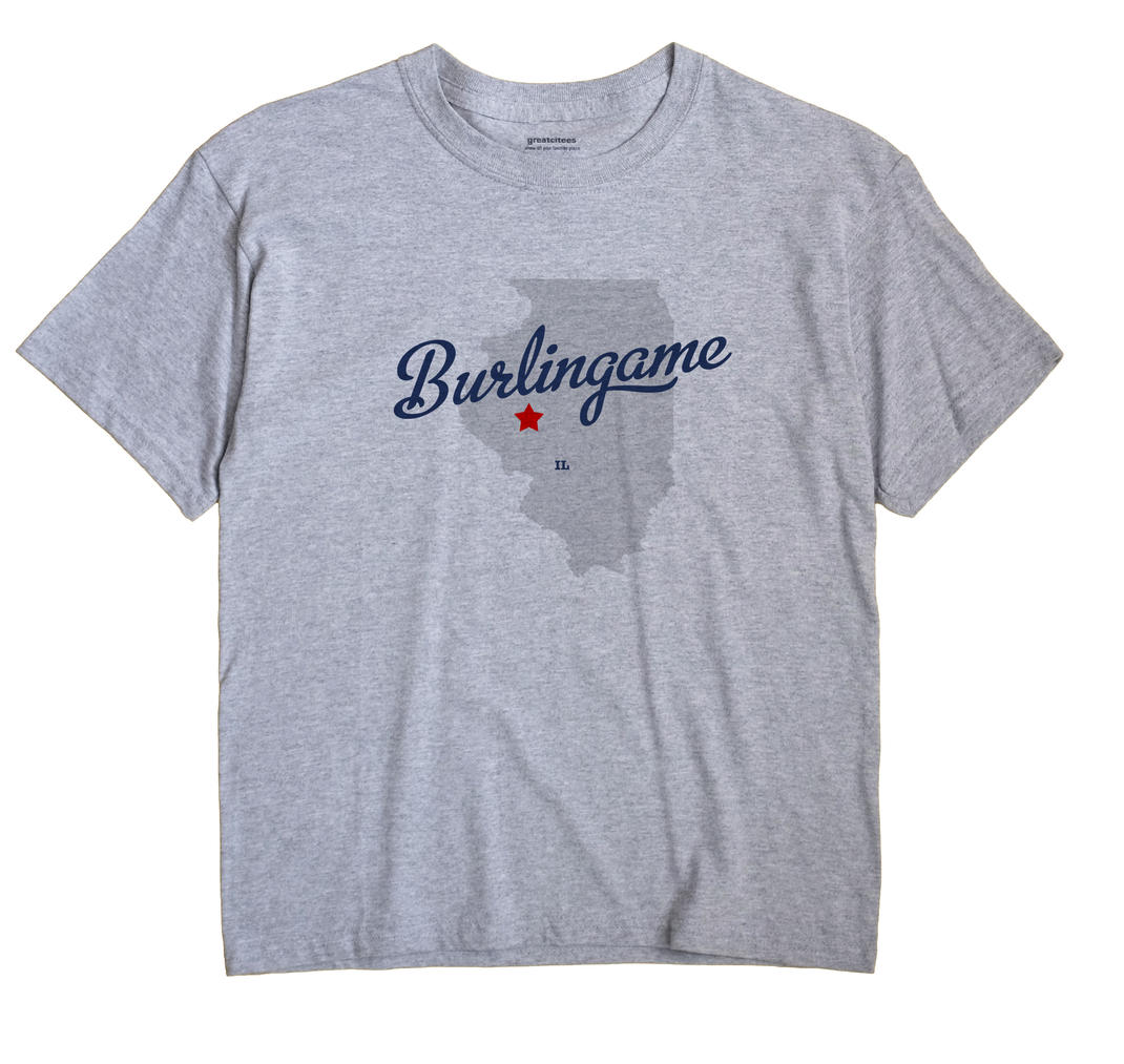 Burlingame, Illinois IL Souvenir Shirt