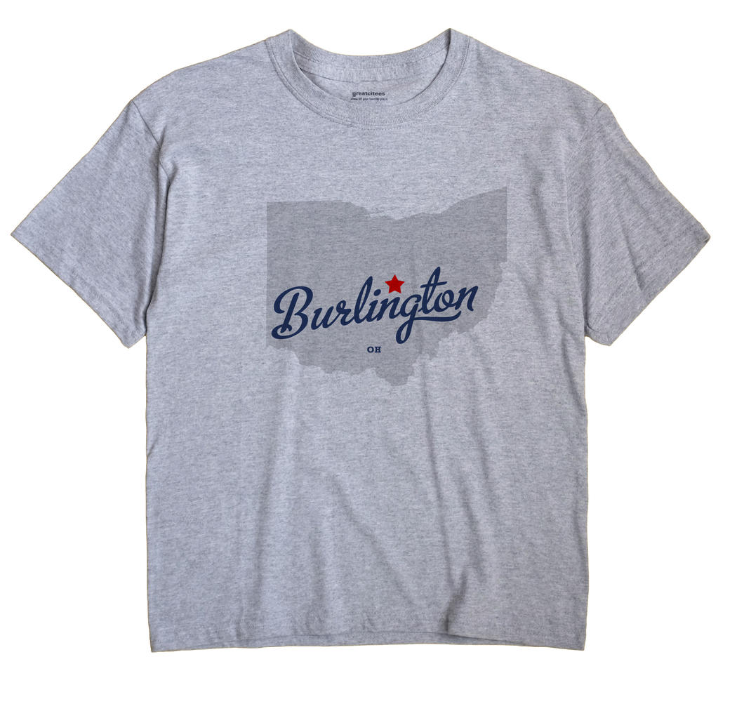 Burlington, Licking County, Ohio OH Souvenir Shirt