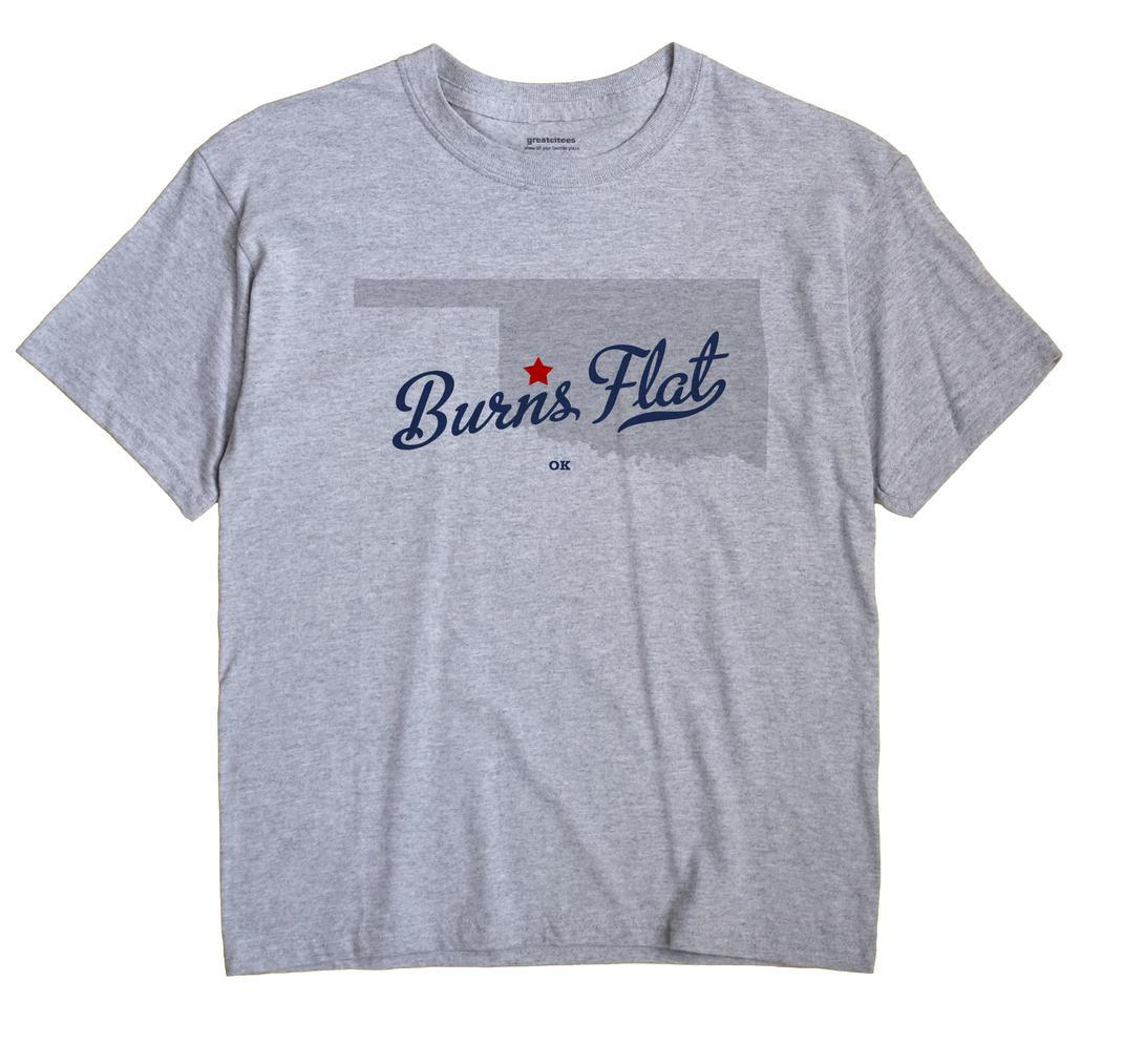 Burns Flat, Oklahoma OK Souvenir Shirt
