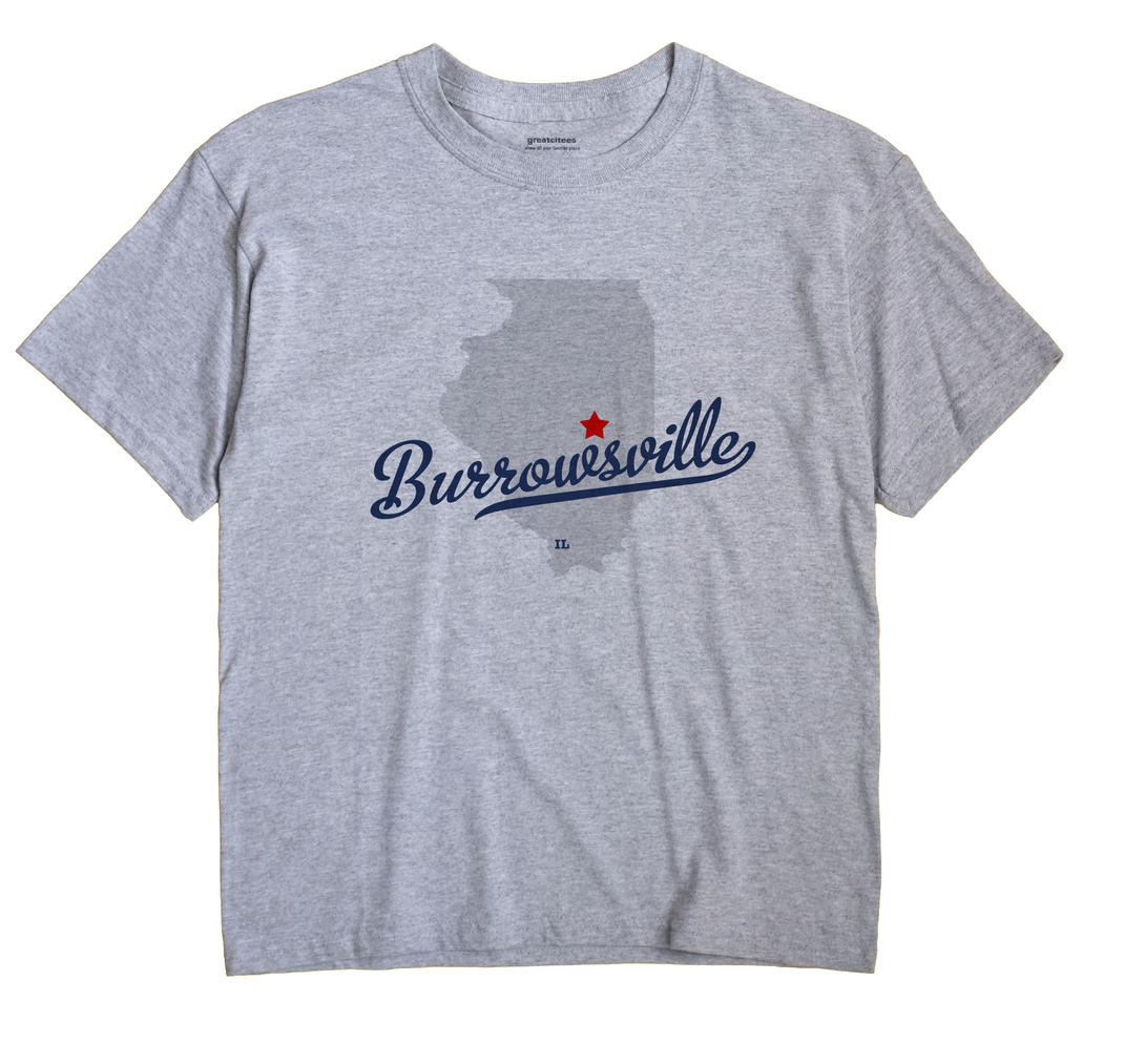 Burrowsville, Illinois IL Souvenir Shirt