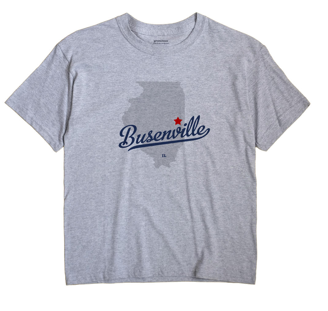 Busenville, Illinois IL Souvenir Shirt