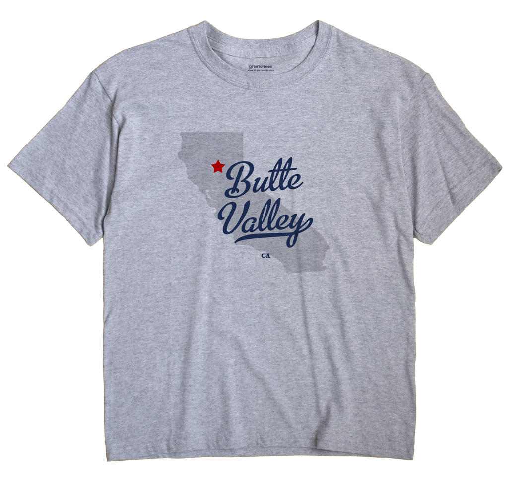 Butte Valley, California CA Souvenir Shirt