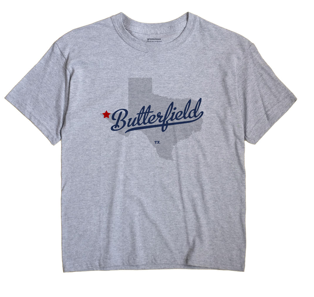 Butterfield, Texas TX Souvenir Shirt