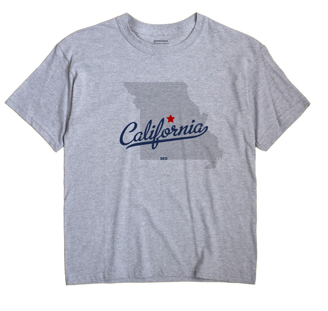 California, Missouri MO Souvenir Shirt